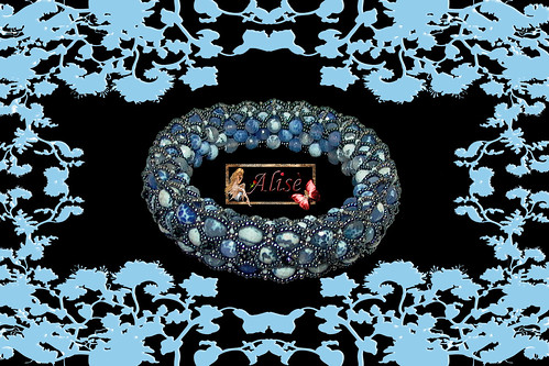 Pulsera Blue Moon by Alisè