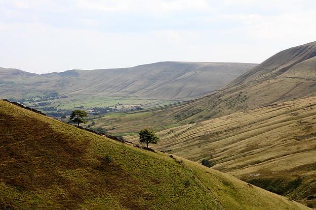 hope valley kinder scout peak district landscape hills