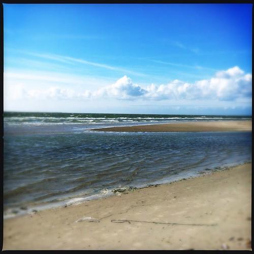 Heute am Strand von Hollum by Beate Knappe
