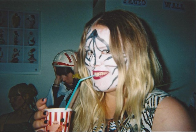 cirkus through a disposable camera.