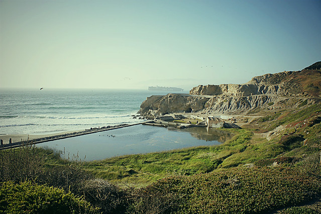 View of the Sutro Baths