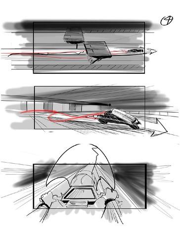 120912(2) - 好萊塢真人電影版《光明戰士 AKIRA》片頭場面的『分鏡表』正式公開......對啦、還有修改的空間啦! (4/7)