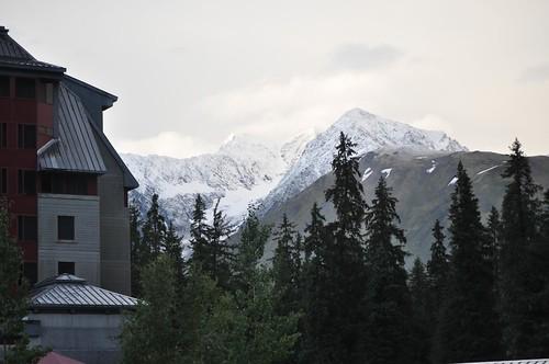 Alyeska Snowfall