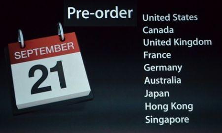 Предзаказ iPhone 5
