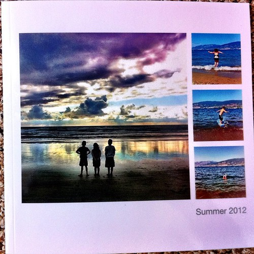 My free @Blurbbooks photo book courtesy of @mooshinindy arrived! Huge thanks to Casey and Blurb.