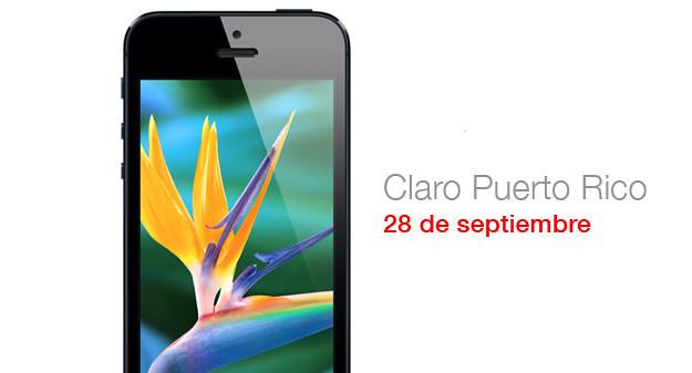 iPhone 5 llega a Claro Puerto Rico