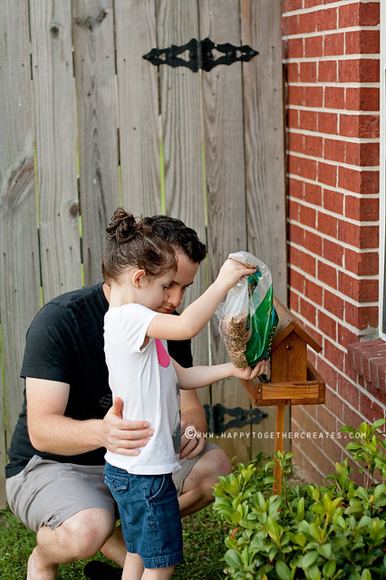 Father/Daughter Birdhouse