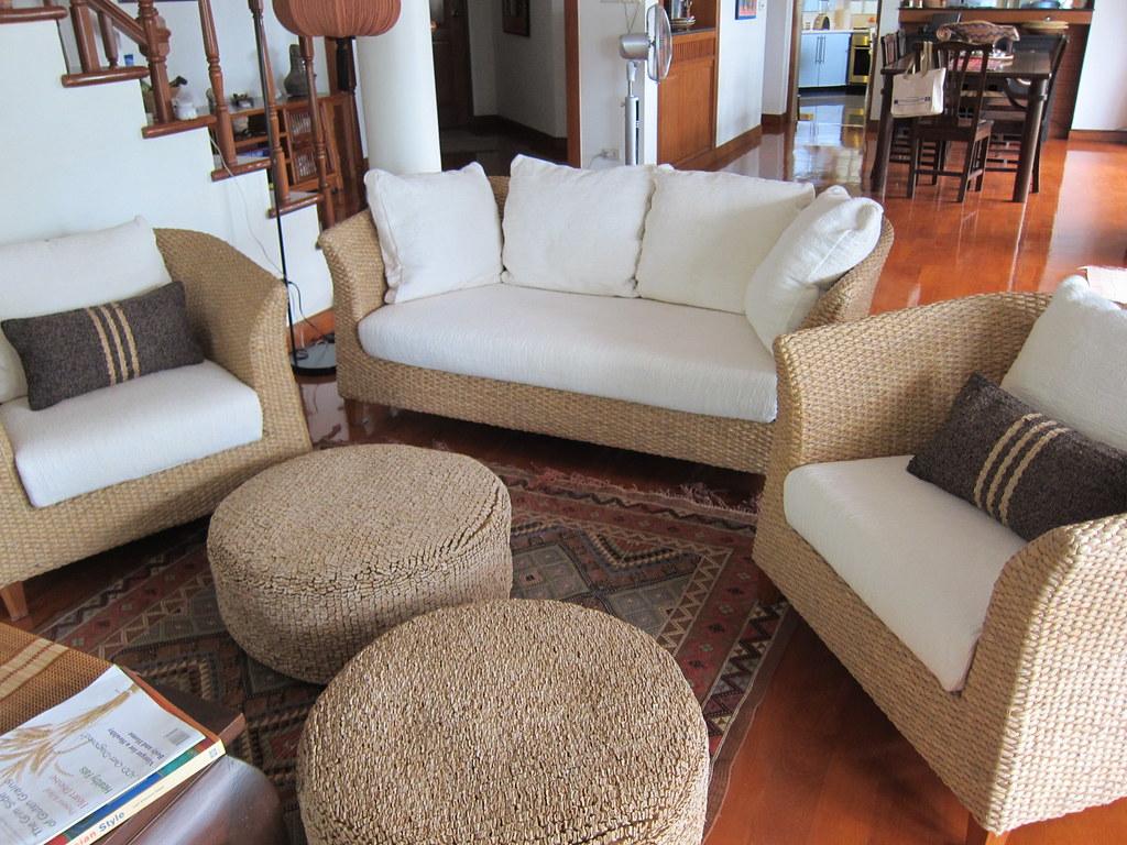 Phenomenal Sofa Set Panta Bali Hi Water Hyacinth 2 Seater Sofa 2X Eas Ncnpc Chair Design For Home Ncnpcorg