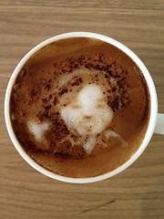 Today's latte, @aodag らぶ♡ #pyconjp
