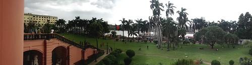 Panoramic view of Dhaka