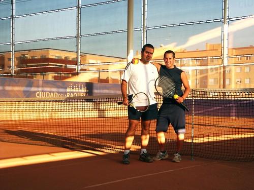 Nacho y Chavi ciudad de la raqueta