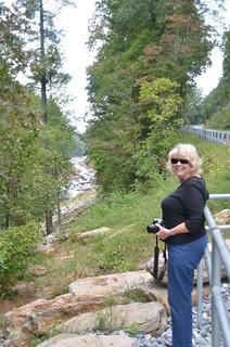 Glynda at Twelve Mile Creek