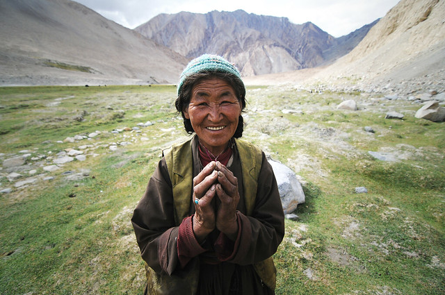 Ladakhi Shepherd - Shooting the Strangers