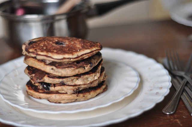 pearl barley pancakes