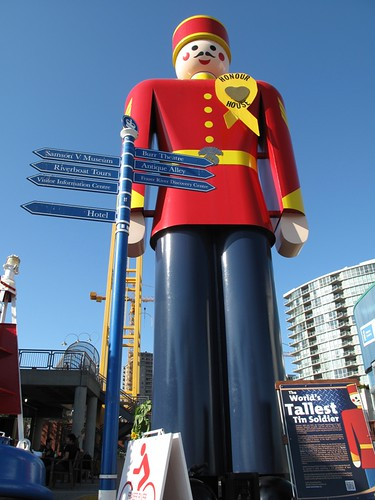 The world's largest tin soldier