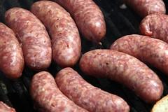 boerewors(0.0), weisswurst(0.0), sausage(1.0), italian sausage(1.0), sujuk(1.0), boudin(1.0), mettwurst(1.0), longaniza(1.0), food(1.0), dish(1.0), breakfast sausage(1.0), kielbasa(1.0), bratwurst(1.0),
