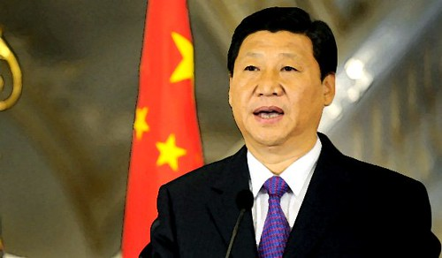 People's Republic of China former Vice-President Xi Jinping. Xi was elected as the new leader of the Communist Party of China along with the new Central Committee. by Pan-African News Wire File Photos