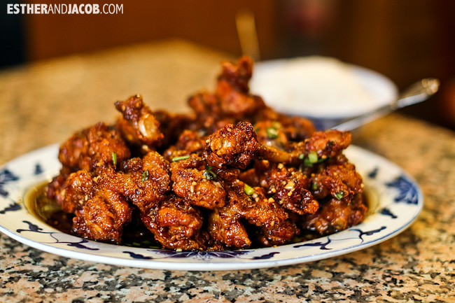 Ggan Pung Gi at Golden Buddha Decatur | Atlanta Asian Food | Foodie Fridays