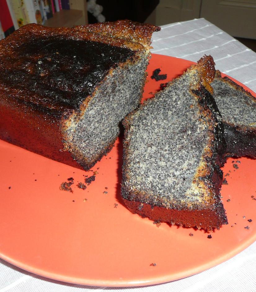 Cake aux graines de pavot