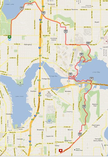 Today's awesome walk, 9.77 miles in 3:06 by christopher575