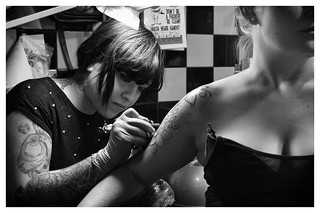 Making of New School Tattoo.