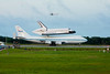 Space Shuttle Endeavour Taxiing