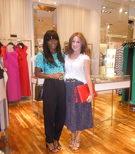 BCBGMAXAZRIA Blogger Party at Tysons Galleria