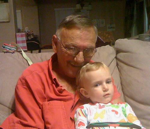 Grandpa and Sprout
