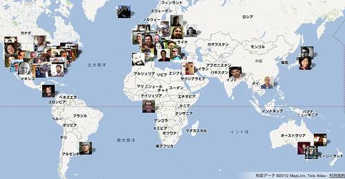 Automattic Map