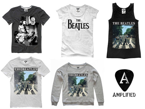 The Beatles products from Amplified