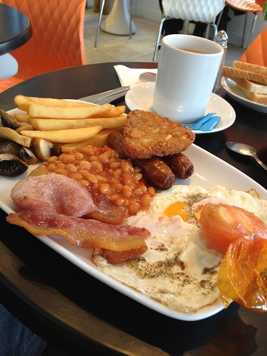 Full English Breakfast with Tea