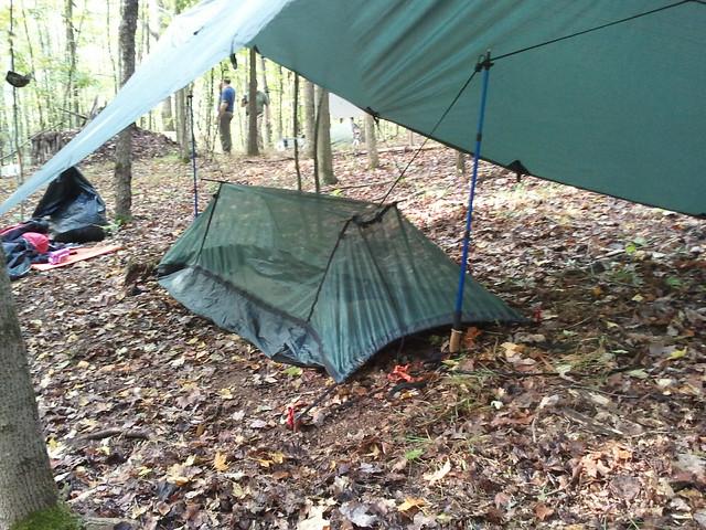 Backyard Hammock Setup : DD Hammock Ground setup  Flickr  Photo Sharing!