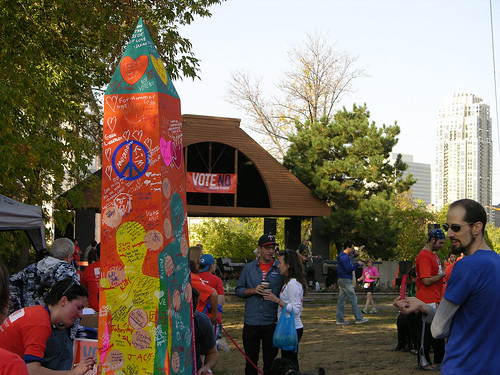 2012 Big Gay Race participatory art