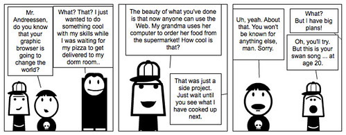 Walking the Web Comic 11