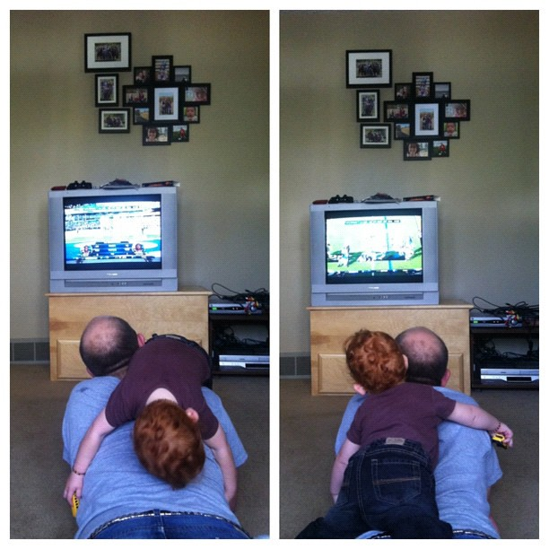 how boys watch football