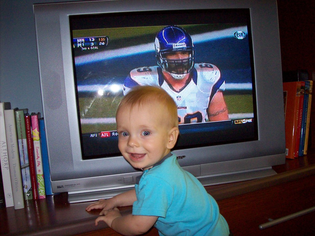 Henrik, future Vikings fan