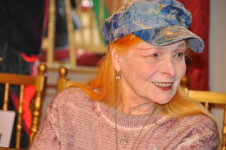 Vivienne Westwood unveils new collection at British Ambassador's Residence in Paris