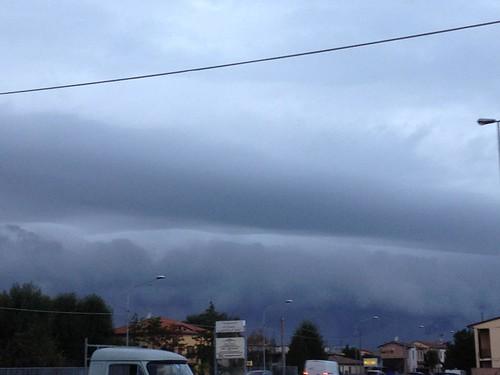 Temporale sopra Argenta!! by meteomike