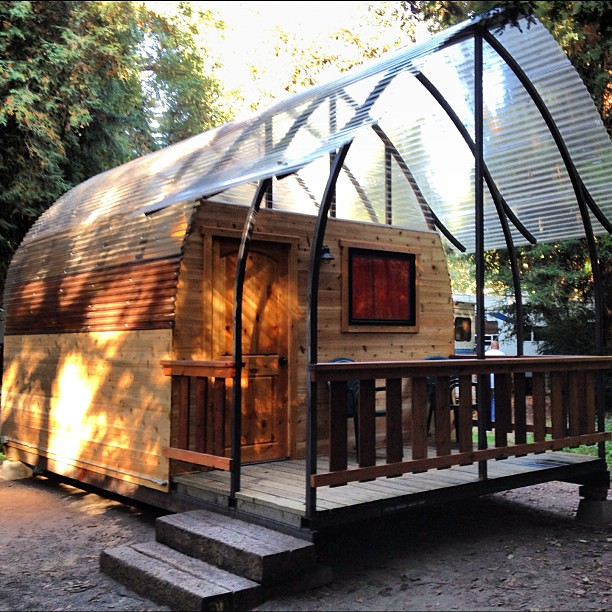 The new tent cabins at big sur campground are so cool for Big sur campground and cabins