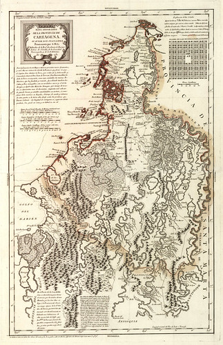 004-Cartagena (Colombia) (Provincia). Mapas generales. 1787