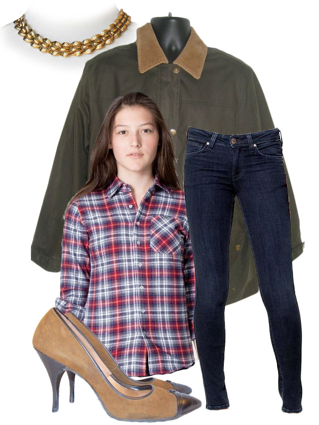get the look, flannel and heels, my fair vanity, rachel mlinarchik