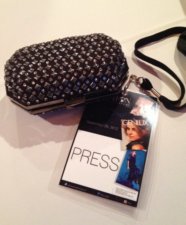 Yacht Fashion Show Press pass