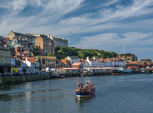 Whitby on a Sunny Day