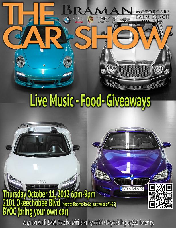 Braman Audi Car Show Oct Th - Braman audi