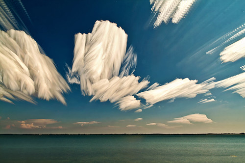 Sky Sculptures - another great example of photo impressionism