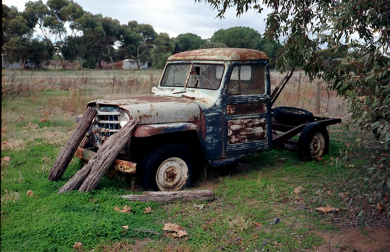 Old truck  - Angaston, South Australia