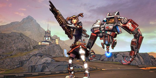 Borderlands 2: Mechromancer DLC Wrecks Havoc - Resets Badass Ranks & Removes Gold Keys