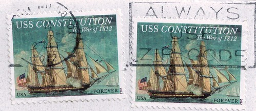 USS Constitution Stamps USA