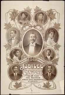 Famous Canadian Jubilee Singers... / Les fameux Canadian Jubilee Singers...
