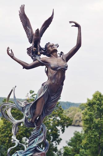 Goddess Statue ~ St Croix Falls, WI